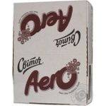 Candy bar Svitoch Aero chocolate-milk 38g Ukraine