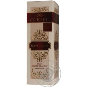 Cortel Napoleon brandy 40% 0,7l