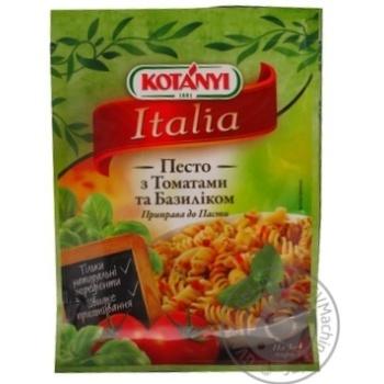 Приправа Котани Италия Песто с томатами и базиликом 30г