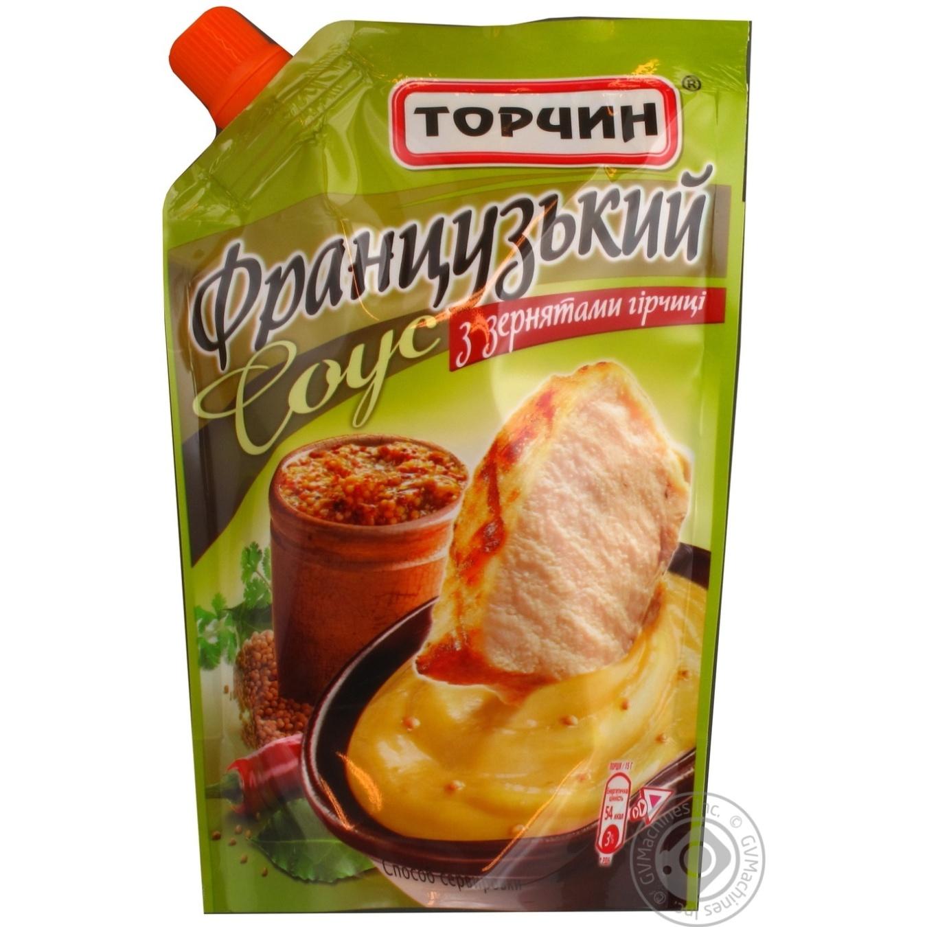 sauce torchin french mustard g doypack ukraine rarr canned food sauce torchin french mustard 230g doypack ukraine