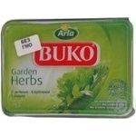 Cream-cheese Buko with greens soft 50% 150g