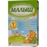 Смесь молочная Малыш Истринский 1 сухая адаптированная для детей с рождения 350г Россия