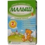 Суміш молочна Малюк Істринський 2 суха для подальшого годування адаптована для дітей з 6 місяців 350г Росія