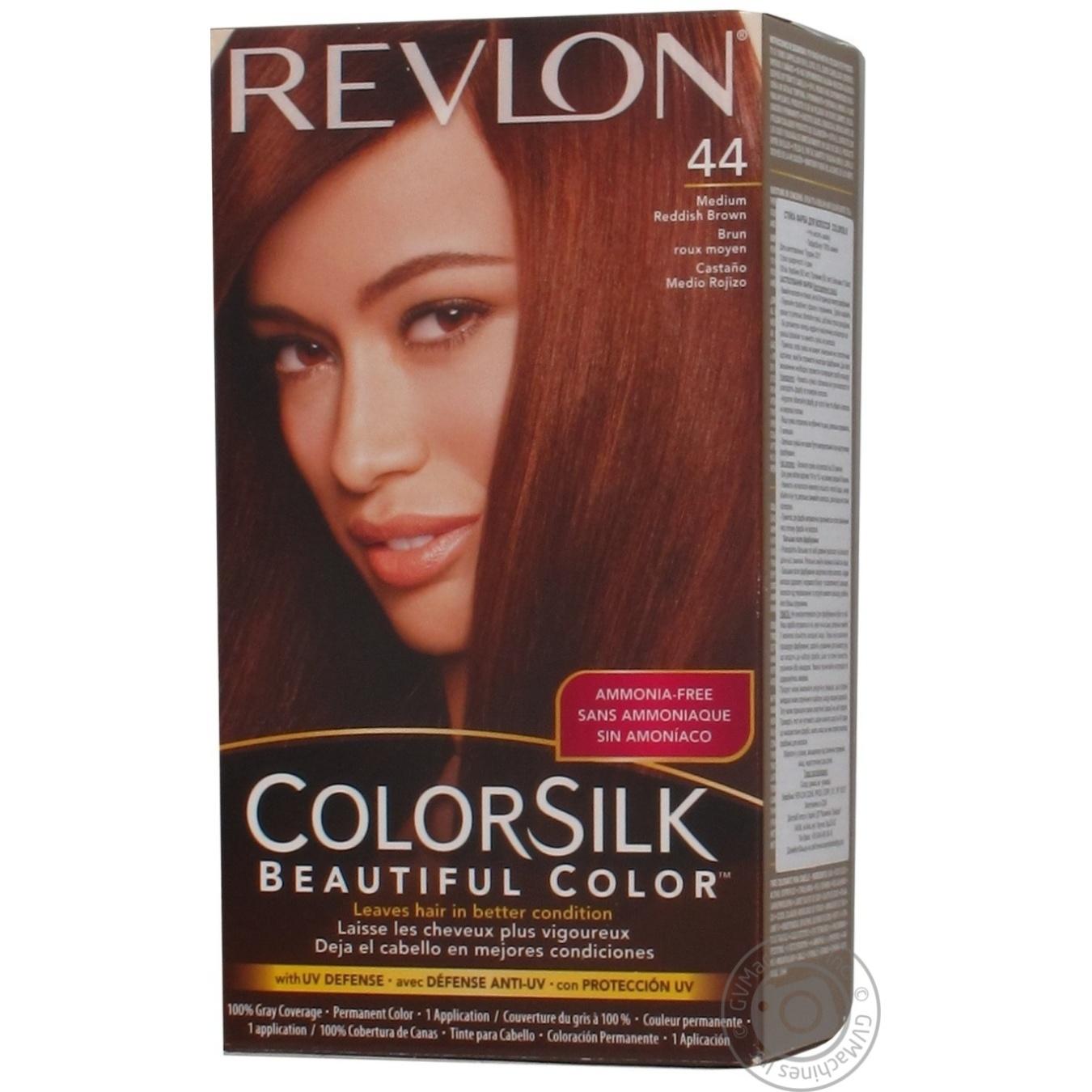 Color Revlon Color Silk Medium Auburn Ammonia Free For Hair