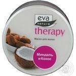 Маска для волосся Eva Natura Therapy з мигдальним молочком та екстрактом кокосу 225мл