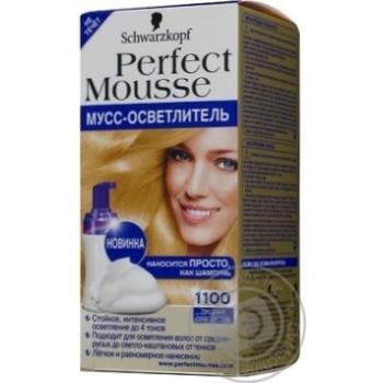 Фарба-мус Perfect Mousse 1100 Середній освітлювач