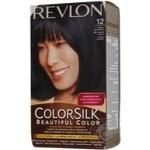 Фарба для волосся Revlon ColorSilk  12 Синьо-чорний 1BB