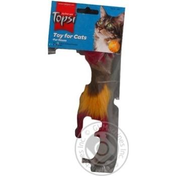 Іграшка Topsi для тварин Миша пухнаста Art.1601 х6 - купити, ціни на МегаМаркет - фото 7