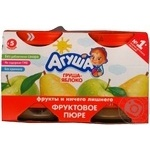 Puree Agusha pear for children from 5 months 115g