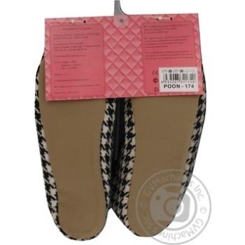 Обувь комнатная Marizel женская Poon 174 - купить, цены на Фуршет - фото 4