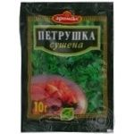 Spices parsley Aromix dried 10g packaged
