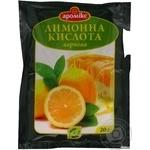 Кислота лимонна Аромікс 20г х 25