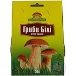 Mushrooms Borovychok white dried 50g