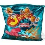 Сухари Три корочки колбаса 90г Украина