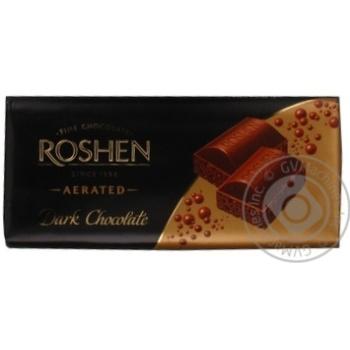 Шоколад экстрачерный пористый Рошен Классик 100г плиточный Украина - купить, цены на Фуршет - фото 5