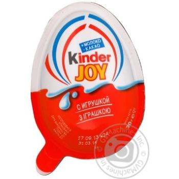 Kinder Joy Egg Chocolate 20g - buy, prices for Furshet - image 1
