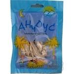 Snack anchovy Tepli morya salted dried 25g sachet Ukraine