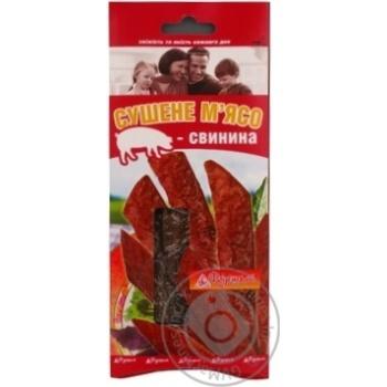 Snack pork dried 25g Ukraine