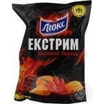 Чипсы Люкс Экстрим с перцем чили 140г Украина