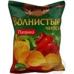 Чипсы Мачо Волнистые картофельные со вкусом паприки 70г Украина
