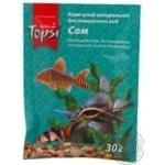 Корм сухий натуральний Topsi для акваріумних риб Сом 30г
