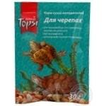 Корм сухий натуральний Topsi для черепах 30г