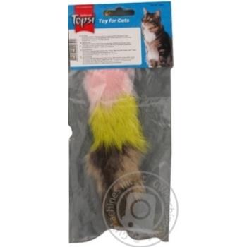 Іграшка Topsi для тварин Миша пухнаста Art.1601 х6 - купити, ціни на МегаМаркет - фото 8