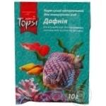 Корм сухой Topsi для аквариумных рыб Дафния 10г