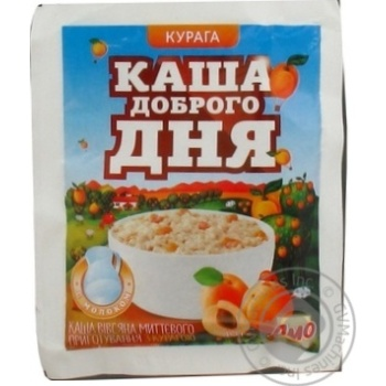 Pap Amo Good day porridge oat with prunes ready-to-cook 40g Ukraine