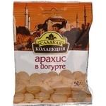 Драже Солодка Колекція арахіс в йогурті Дружковка 50г