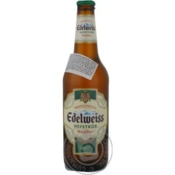 Edelweiss unfiltered lager 5.3% 0,5l - buy, prices for Novus - image 2