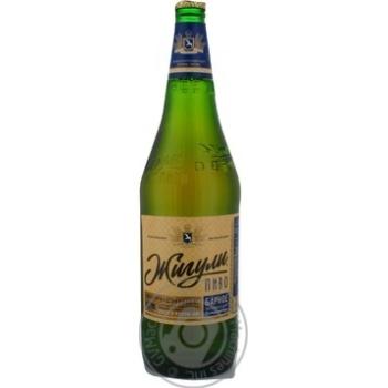 Пиво Жигули Фирменное Барное светлое фильтрованное пастеризованное 5%об. 1000мл