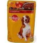 Корм для собак Pedigree яловичина пауч <15кг 100г