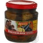 Овощи баклажан маринованная 480мл стеклянная банка Украина