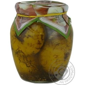 Овощи патиссон Укрполе маринованная 720мл