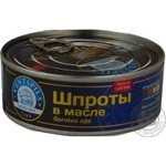 Sprats Ventspils in oil 240g can