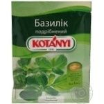 Spices basil Kotanyi chopped 9g