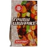Mushrooms shiitake Katana dried 40g packaged