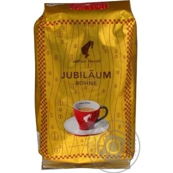 Natural roasted coffee beans Julius Meinl Jubilaum 500g - buy, prices for MegaMarket - image 1