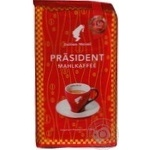Natural ground roasted coffee Julius Meinl President 250g