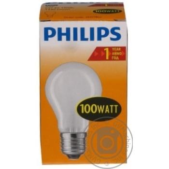 Лампа Philips A55 звичайна матова 100w E27 FR