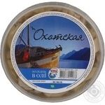 Fish herring Ohotskaya preserves 500g hermetic seal Ukraine