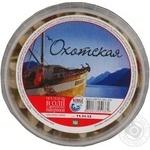 Філе оселедця Охотська шматочки в олії з ароматом паприки 180г Україна
