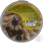 Fish herring Mathieu Matie olives preserves 180g hermetic seal Ukraine