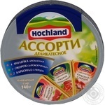 Cheese Hochland Mix processed 55% 140g Russia