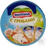 Сир Хохланд плавлений з грибами 55% 140г Росія