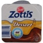 Десерт Цотт Цоттис молоко 125г пластиковый стакан Германия