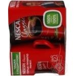 Кава розчинна Nescafe Classic 250г+ чашка червона в подарунок
