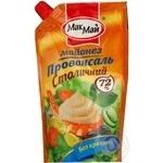 Mayonnaise Macmai Stolichny 72% 400g doypack Ukraine