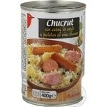 Auchan Canned Pork With Potatoes & Cabbage